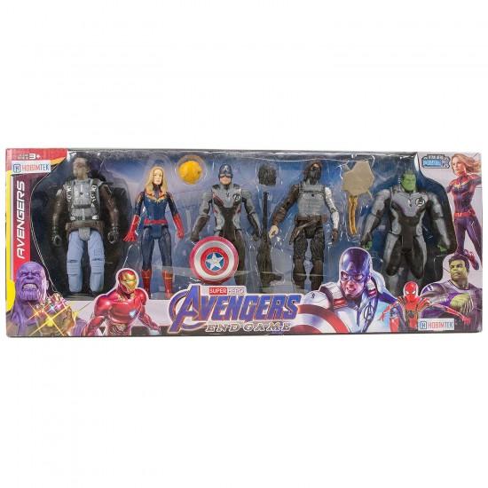 Avengers End Game Süper Kahramanlar 5li Karakter Seti