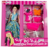 Barbie Bebek Oyuncak Market Seti