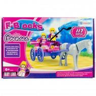 F-Blocks Prenses Lego Kız Çocuk Oyuncak 117 Parça