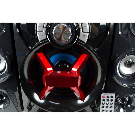 H860B 2.1 Bluetooth Multimedya Hoparlör Sistemi Radyolu