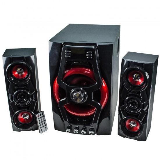H-H560T E 2.1 Bluetooth Multimedya Hoparlör Sistemi Radyolu