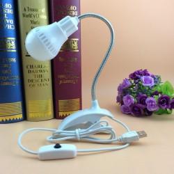 HT-108 LED USB Masa Lambası Klipsli Kıskaçlı