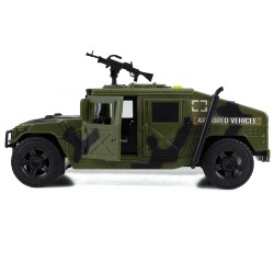 Askeri Zırhlı Hummer Tank Kırılmaz Sürtmeli Oyuncak 24 Cm