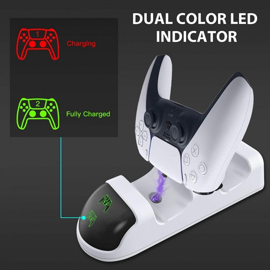 PS5 DualSense Kol Şarj Edici Stand Dock YH-49