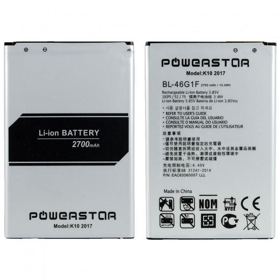 LG K10 2017 Pil Batarya BL-46G1F 2700mAh