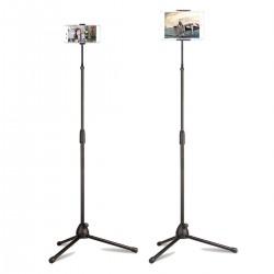 HT-44 Tablet ve Telefon Standı Tutucu Tripod 180 Cm