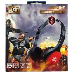 G7 Oyuncu Kulaklığı Kulak Üstü Kablolu Gaming Mikrofonlu