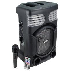 HT-893 Karaoke Bluetune Bluetooth Hoparlör 21 Cm Kolon Taşınabilir Bataryalı TWS Ses