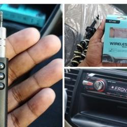 HT-94 Bluetooth Oto Kablosuz Müzik Alıcısı