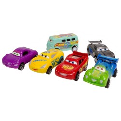 Cars Arabalar Şimşek Mcqueen Jackson Storm 6lı Oyuncak Seti