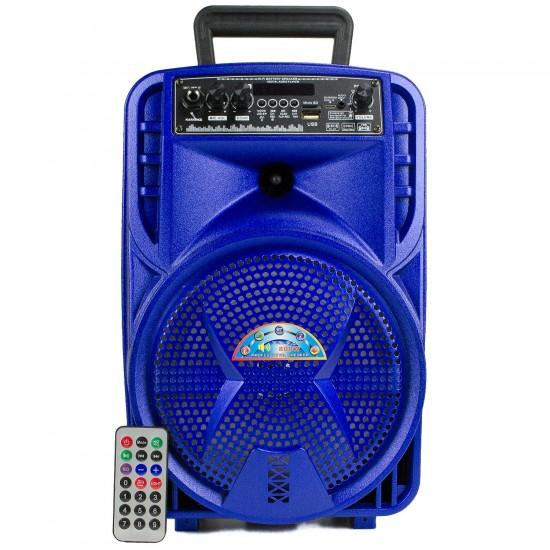 HT-080 TWS Bluetooth Hoparlör 21 Cm Kolon Radyolu Bataryalı 40 Cm Boy