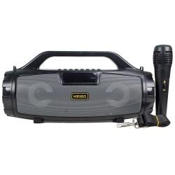 HT-A3 Karaoke Bluetooth Hoparlör LED Radyolu Bataryalı TWS Ses