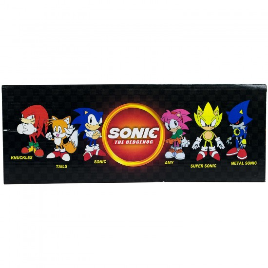 Sonic The Hedgehog Mini Figür Oyuncak Seti
