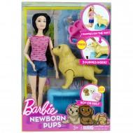 Barbie Newborn Pups Oyuncak Bebek ve Köpekler 30 Cm Sonsuz Eklem