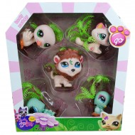 Littlest Pet Shop Neşeli Minişler 5li Oyuncak Seti v2