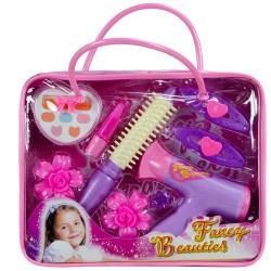 Fancy Beauties Kız Çocuk Oyuncak Kuaför Makyaj Seti