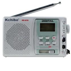 Kchibo KK-979 FM Radyo Alarmlı Manuel Aramalı