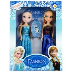 Frozen Elsa Fashion Elbiseli Oyuncak Bebek Seti Küçük Boy
