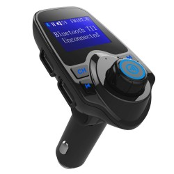 BT-10 Araç Kiti Bluetooth USB FM Transmitter Hepsi Dahil Sistem