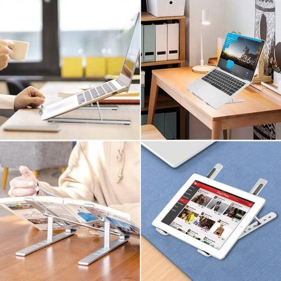 HT-119 Katlanır Alüminyum Laptop ve Tablet Standı