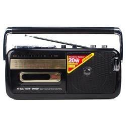 H-60BT Radyo Kaset Çalar Müzik Player Bluetoothlu USBli