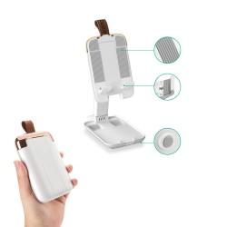 HT-125 Masaüstü Cep Telefon ve Tablet Tutucu Stand Taşınabilir Portatif