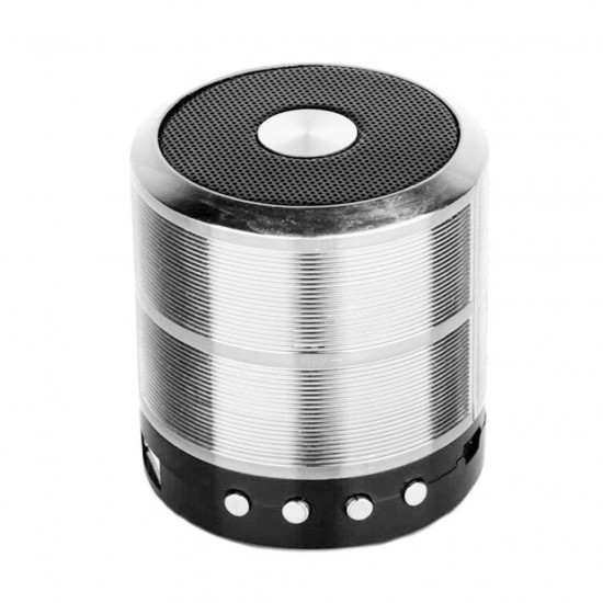 887 Mini Speaker Bluetooth Hoparlör Radyolu USBli Şarj Edilebilir