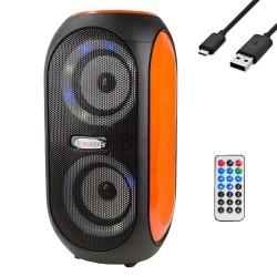 HT-155 Bluetooth Hoparlör Şarjlı Kumandalı FM Radyo USB