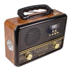 YS-608BT Radyo Şarjlı Fenerli MP3 USB Aux Acil Durum