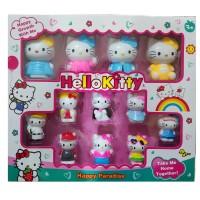 Hello Kity 12li Oyuncak Figür Seti