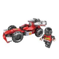 Cogo 165 Parça Füze Atan F1 Yarış Arabası Lego Oyun Seti