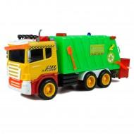 Çöp Kamyonu Büyük Kırılmaz Oyuncak Çöp Kovalı Temizlik Aracı 31 cm