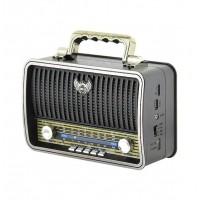 Kemai MD-1909BT Bluetootlu Nostaljik Radyo Ahşap Büyük Boy