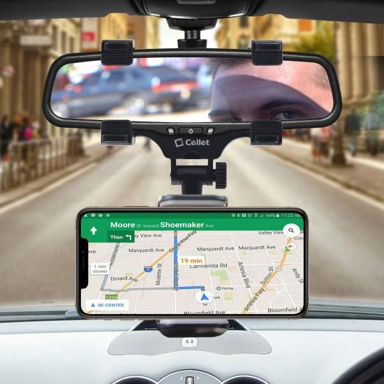 Dikiz Aynası Telefon Tutucu Araç İç Dikiz Ayna Navigasyon Tutacak