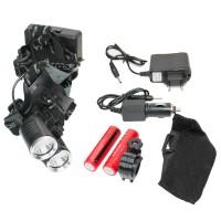 800 Lümen Cree 2 XPE LED Sellektörlü Kafa ve Bisiklet Farı
