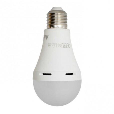 Arius 8W Beyaz Işık Led Ampul 6500k 6 Saate Kadar Lityum Batarya