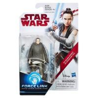 Star Wars Rey (Ada Yolculuğu) Force Link Figür