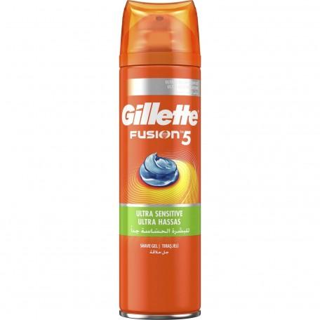 Gillette Fusıon 5 Tıraş Jeli Ultra Hassas 200 ML