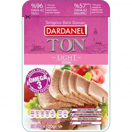Dardanel Poşet Light Ton Balığı 120 gr TETT 27-01-2021