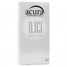 Acura Ultra İnce 12 li Prezervatif