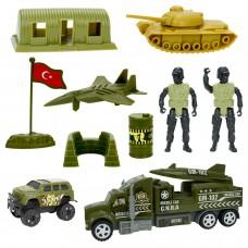 Aksiyon Askerli Oyuncak Seti 10 Parça