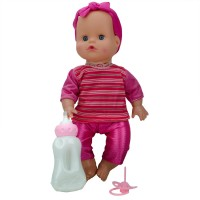 Amy Baby Su İçen Masal Anlatan Aksesuarlı Et Bebek