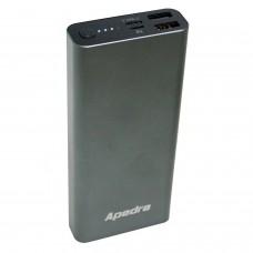 Apedra AP-02 15000mAh Powerbank 2 USB Micro ve Type C Şarj Aleti