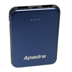 Apedra AP-04 5000mAh Powerbank 2x USB Micro Şarj Aleti