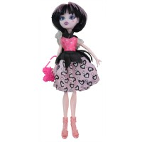 Ardana Girl Fashion Elbiseli Canavar Bebek