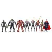 Avengers Endgame Yenilmezler Oyuncak Seti 8li 2020 Model v2
