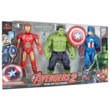 Avengers Süper Kahramanlar Oyuncak Seti 3 lü