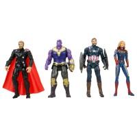Avengers Süper Kahramanlar Yenilmezler Oyuncak Seti 4lü