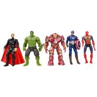 Avengers Süper Kahramanlar Yenilmezler Oyuncak Seti 5li v2