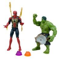 Avengers Union Legend Oyuncak Hulk ve Spiderman